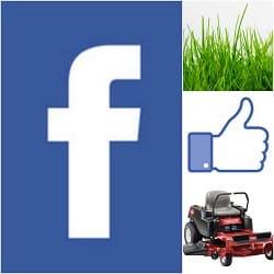 build lawn business fan page